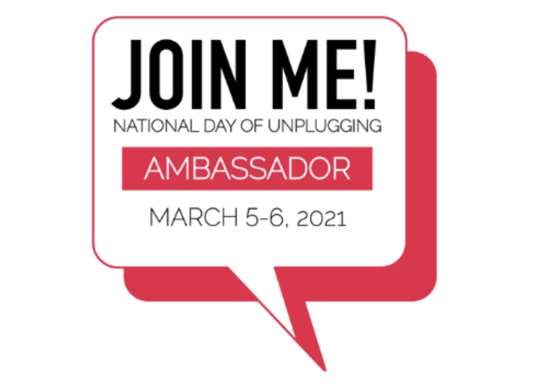 National Day of Unplugging Ambassador Badge